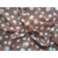 Tissu en polyester en mousseline de soie avec spandex