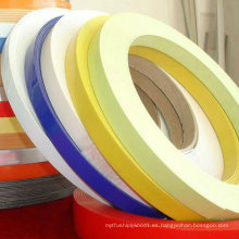 Bandas de borde de PVC de alto brillo
