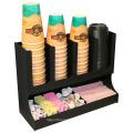 Tazas de acrílico de encargo que sostienen el café del plexiglás