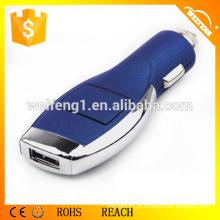 Car Charger para Smartphones com 12-24V AC, 50 / 60Hz Tensão de entrada C08