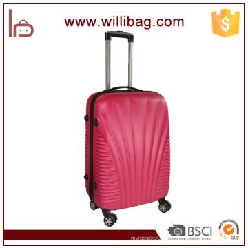 Bolsas de equipaje de diseño único Trolley Travel Bags Fancy ABS Maleta