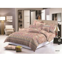 Polyester Microfibre Printed bedding set  bed set