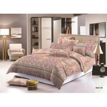 Полиэстер микрофибра напечатаны набор кровать Постельные