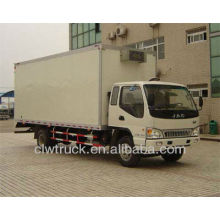 JAC mini used freezer truck