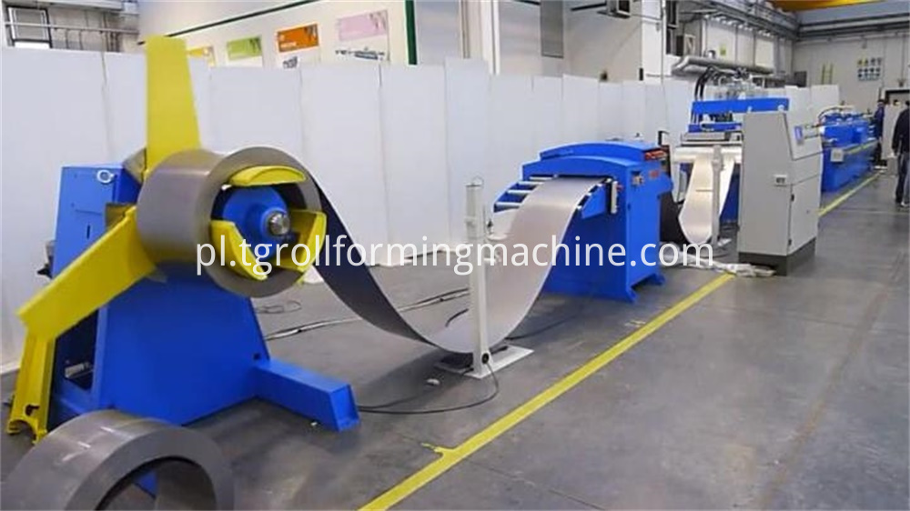 Metal Foil Aluminum Core Forming Machine