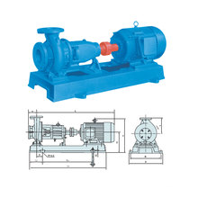 Single Stage and Single Suction Centrifugal Pump (IS80-65-160A)