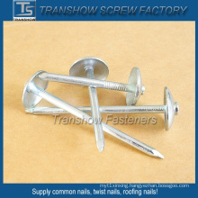 6-13 Bwg Galvanized Umbrella Head Roofing Nails