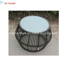 C-Latest Exquisiteoutdoor Rattan Round Cafe End Table