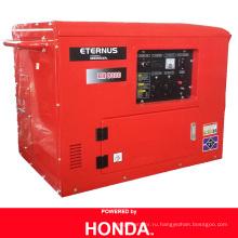 Звукопоглощающий бензиновый генератор Powered by Honda (BH8000)