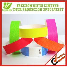 Dar para longe impressos Tyvek Wristbands