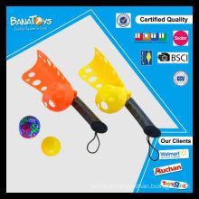 Brinquedos engraçados do pólo aquático do esporte com esfera macia e mini balão
