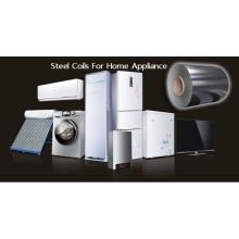 Feuille d'acier pour panneau de porte d'électroménager, panneau de réfrigérateur
