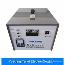 Estabilizador de voltaje de alta precisión del uso del hogar del metro del LCD