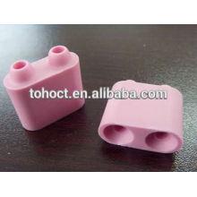 grânulos cerâmicos de alumina rosa