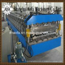 Máquina formadora de rolo de painel de telhado com pré-corte (AF-820)