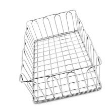 cestas de almacenamiento de malla de alambre de acero inoxidable