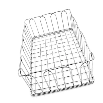 Support d'égouttoir à vaisselle en fil métallique en acier inoxydable de cuisine