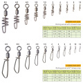 Free Shipping Wholesale Safety Interlock Snap Rolling Swivel