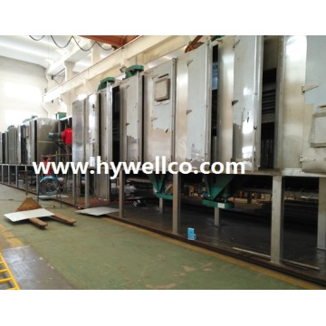 آلة Hywell Supply Mesh-belt Dryer