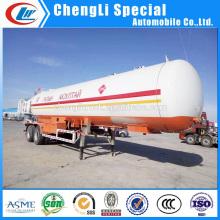 Heavy Duty 2 Eixos 20t LPG Reboque Cisterna 40cbm LPG Reboque Estrada para Venda