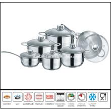 12PCS Cut Edge Cookware Set