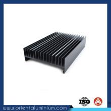 Évier de chaleur à extrusion en aluminium à faible prix