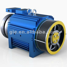 800kg 1.5m / s ímã permanente Motor síncrono Gearless GSS-MM