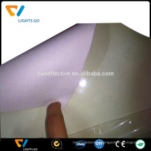 solar reflective film with adhesive for safety