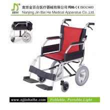 Silla de ruedas plegable de acero plegable de acero