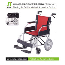 Cadeira de rodas de aço dobrável em aço