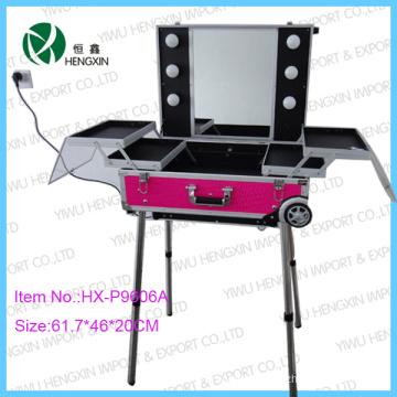 Rose Cosmetic Case PU Mkaeup Case (HX-W2951)