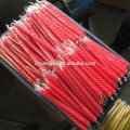 8 Novelty Muti Colour Spiral Taper Lilin