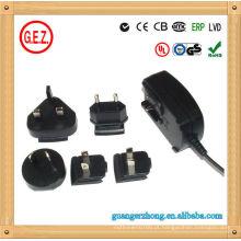 Adaptador de energia de comutação 9V 1A
