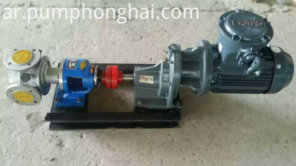 stainless steel oil gear pump