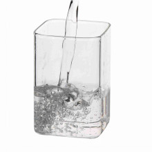 Single Wall Square Glass Mugs
