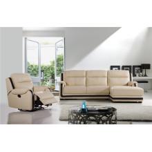 Sofá de sala com sofá de couro genuíno moderno (751)