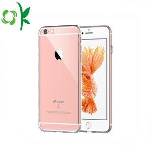 Slim Clear Transparent Crystal Soft TPU Phone Case