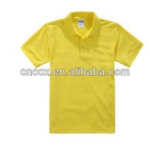 13PT1027 camiseta de algodão para o homem em massa camisa polo