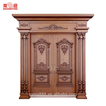 Well-made steel door with Roman column in China