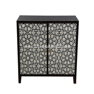 Manufacturer for for Mother of Pearl Covered Furniture CANOSA 2016 new design White mother of pearl inlay Living Room furniture supply to Sri Lanka Suppliers