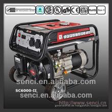 2015 Neuer Super Silent Generator 5KW SC6000-II Generator Benzin