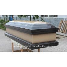 Cercueil en bois pour produits funéraires / nouveau modèle Sytle cercueil en bois