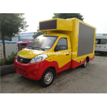 mobile led screen truck /outdoor moving advertising