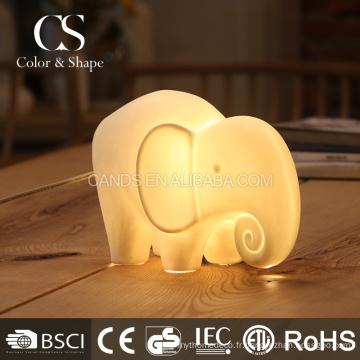 Belle lampe en forme d'animal de lumière de nuit d'éléphant à vendre