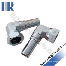 90 Jic Female 74 Cone Hydraulic Socketless Hose Fitting (26791K-PO)