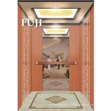 Passager Ascenseur / Ascenseur avec miroir Gravure Surface en acier inoxydable