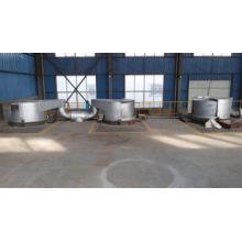 15 T Main Frequency Melting Holding Furnace / Aluminium Scr