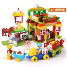 Zoo Theme Environmental Building Blocks Juguetes para niños