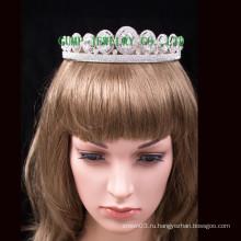 Bling кристалл для новобрачных корону свадебной тиары для женщин