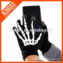 Großhandel stricken benutzerdefinierte Acryl Texting Handschuhe